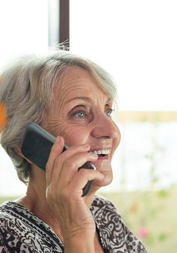 Client Calling Total Care Connections to Schedule Free Assessment